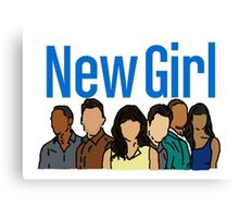 New Girl Canvas Print