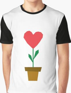 heart plant Graphic T-Shirt