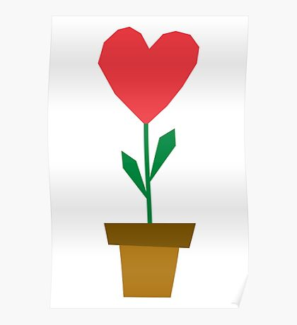heart plant Poster