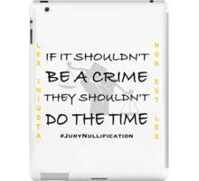 Jury Nullification iPad Case/Skin