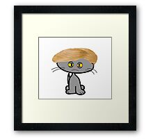 Mad Cats Bad Hair Day Framed Print