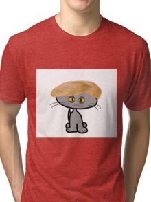 Mad Cats Bad Hair Day Tri-blend T-Shirt