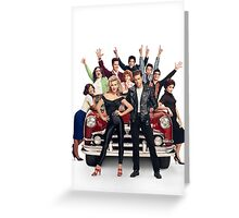 New Grease: Live! 2016  Greeting Card