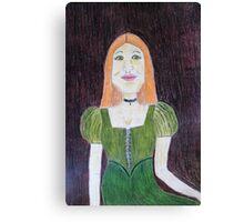 An Irish Girl Canvas Print