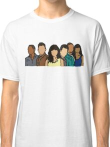 New Girl in Color Classic T-Shirt