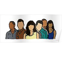 New Girl in Color Poster