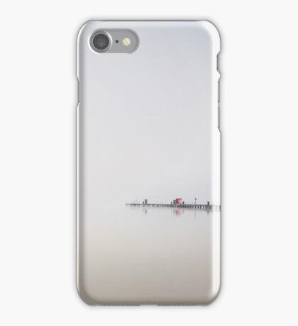 Foggy lake iPhone Case/Skin