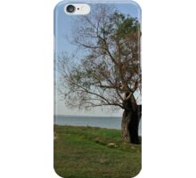 Friendless tree after fire iPhone Case/Skin