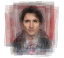 Justin Trudeau Portrait Photographic Print