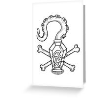 Davy Jones' Locker: Memento Mori Greeting Card