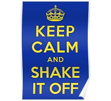 Keep Calm and Shake It Off Poster