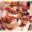 """""""The Potter's Hands""""... prints and products by © Bob Hall"""