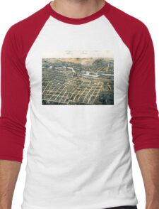 Aurora - Illinois - 1867 Men's Baseball ¾ T-Shirt