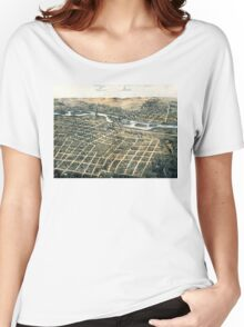 Aurora - Illinois - 1867 Women's Relaxed Fit T-Shirt