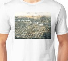 Aurora - Illinois - 1867 Unisex T-Shirt