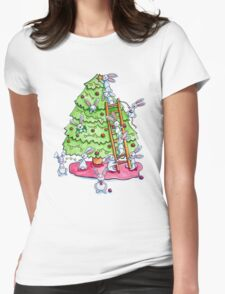 Everybunny Loves a Christmas Tree T-Shirt