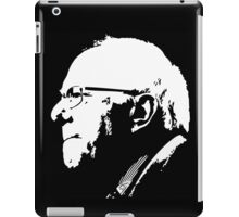 black n white bernie iPad Case/Skin