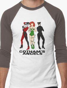 Gotham's Angels Men's Baseball ¾ T-Shirt