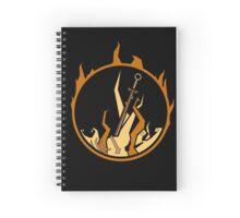 Bonfire - MH Spiral Notebook