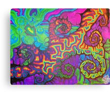 the two finger shuffle Canvas Print