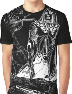 JoJo's Bizarre Adventure - Funny Valentine D4C (Dark Color Version) Graphic T-Shirt