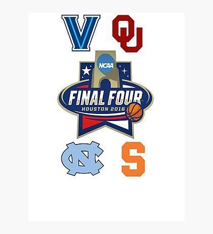 NCAA Men's Basketball Final Four 2016 Photographic Print