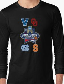 NCAA Men's Basketball Final Four 2016 Long Sleeve T-Shirt