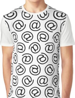 At Me Pattern Graphic T-Shirt
