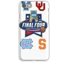 NCAA Men's Basketball Final Four 2016 iPhone Case/Skin