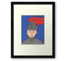 The Little Knight Framed Print