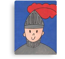 The Little Knight Canvas Print