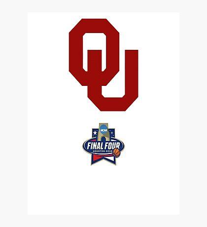 Oklahoma Sooners - NCAA Final Four 2016 Photographic Print