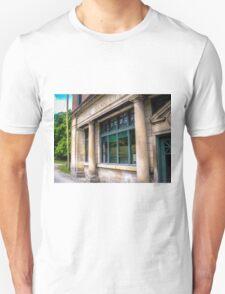 Steady Pillars, Missing Sidewalk Unisex T-Shirt