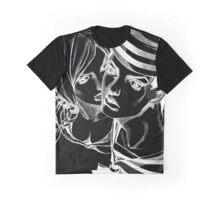 JoJo's Bizarre Adventure - Josuke and Yasuho (Dark) Graphic T-Shirt