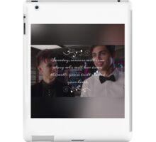 Magnus and Alec  iPad Case/Skin