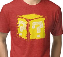 Question Block Tri-blend T-Shirt