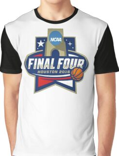 NCAA Men's Basketball March Madness Final Four Houston 2016 Graphic T-Shirt