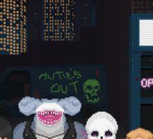 Cybersharks - Street Sticker