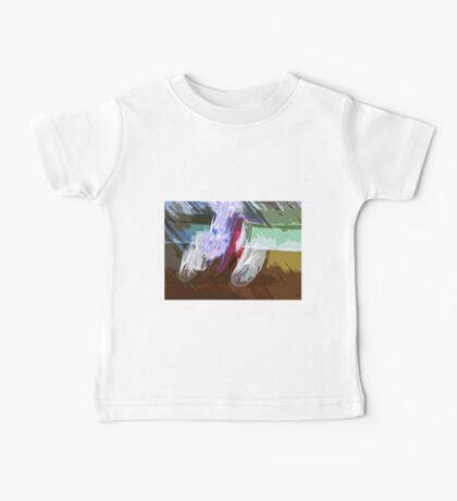 """The amazing effect of the slow speed 7  (c)(t) a PAINT as """" Picasso """"  with humor ! """"Kiss the cool effect"""" without digital effects with compact kodak z 1285! on 29.07.2012 Baby Tee"""