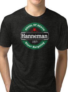 JEFF Hanneman BLACK ANGEL OF DEATH STILL REIGNING Tri-blend T-Shirt
