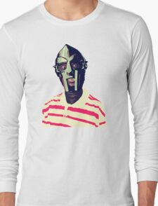 Meentre MF Doom Mask Vector Long Sleeve T-Shirt