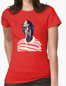 Meentre MF Doom Mask Vector Womens Fitted T-Shirt