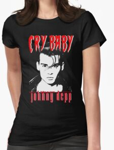 CRY BABY - JOHNNY DEPP Womens Fitted T-Shirt