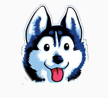 Cartoon Husky Unisex T-Shirt