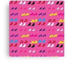 Barbie Shoes  Canvas Print