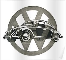 VW Oldie Poster