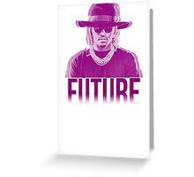 Purple Future Greeting Card