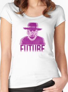 Purple Future Women's Fitted Scoop T-Shirt