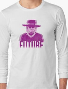 Purple Future Long Sleeve T-Shirt