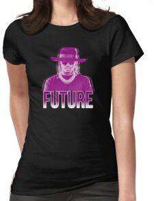 Purple Future Womens Fitted T-Shirt